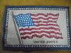 OLD AND RARE 41 STAR FELT CIGAR BOX AMERICAN FLAG