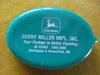 VINTAGE JOHN DEERE ADVERTISING COIN HOLDER-GERRY MILLER IMP--HARTINGTON NEBRASKA