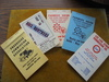 5 OLD SIOUX CITY STOCKYARDS COMMISSION COMAPNY POCKET NOTE BOOKS-NICE ADVERTISING