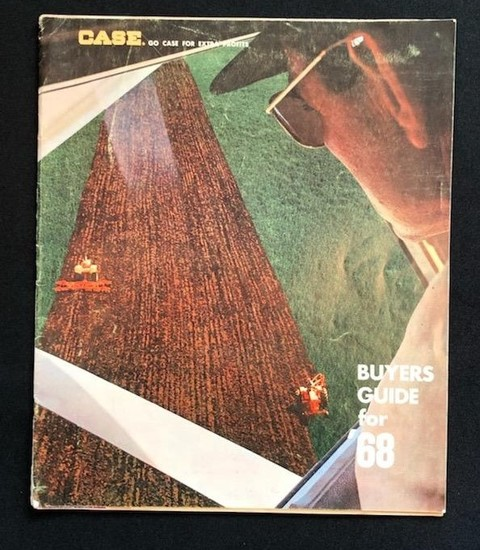 1968 CASE BUYERS GUIDE