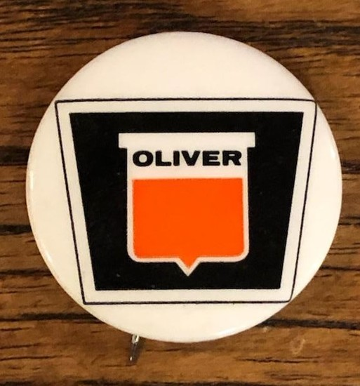 OLIVER ADVERTISING BADGE