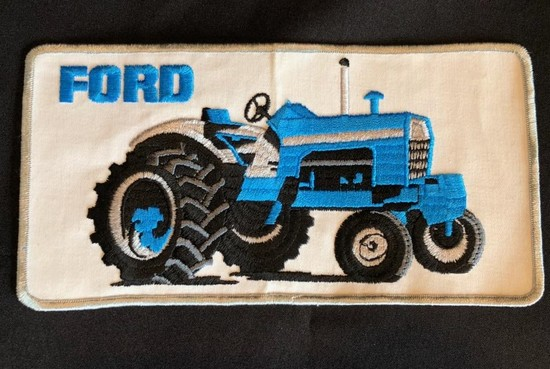 LARGE FORD TRACTORS CLOTH PATCH