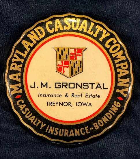 J. M. GRONSTAL - TREYNOR, IOWA -- POCKET MIRROR