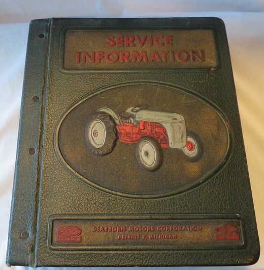 "FORD ""SERVICE INFORMATION"" - DEALERSHIP SERVICE BULLETIN BOOK"