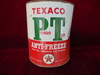 "VINTAGE TEXACO ""P-T"" ANTI-FREEZE GAL. ADVERTISING CAN"