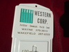 OLD TERRA WESTERN ADVERTISING THERMOMETER-FARM RELATED PRODUCTS