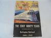 1940 BURLINTON RAILROAD 90 YEAR BOOKLET