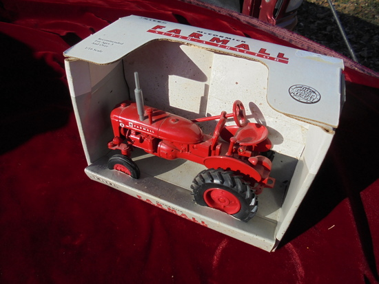 "GREAT FARMALL SUPER ""A"" TOY TRACTOR IN BOX"