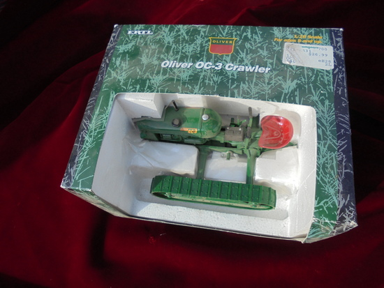 "NEW IN BOX ""OLIVER OC-3 CRAWLER TRACTOR"" STILL IN THE BOX"