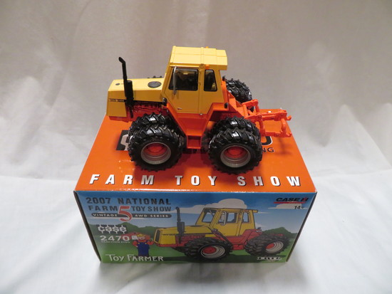 CASE 2470 TRACTION KING - 2007 NATIONAL FARM TOY SHOW TRACTOR