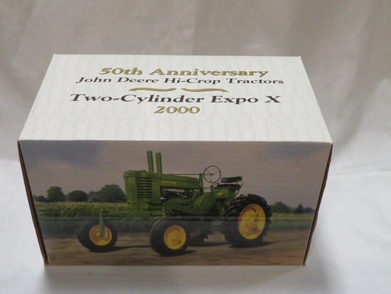 "TWO CYLINDER EXPO X - 2000 - JOHN DEERE  MODEL ""A"" HI-CROP TRACTOR"