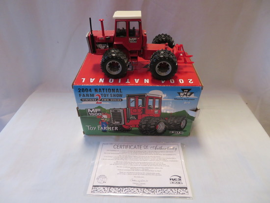 MASSEY FERGUSON -- MF 1500 NATIONAL FARM TOY SHOW TRACTOR