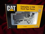 NEW IN BOX CATERPILLAR 2 TON TRACK TYPE TRACTOR TOY