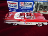 1957 CHEVROLET TOY BANK IN BOX-NEW USED