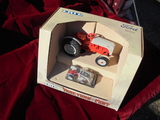 TRACTOR PAST SERIES TOY FORD 8N TRACTOR IN BOX WITH SMALL TRACTOR ADDITION