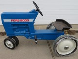 FORD PEDAL TRACTOR - F-68  - MODEL 8000