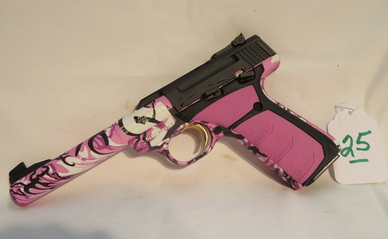 Browning Buck Mark Pink Pro Target UFX 22LR