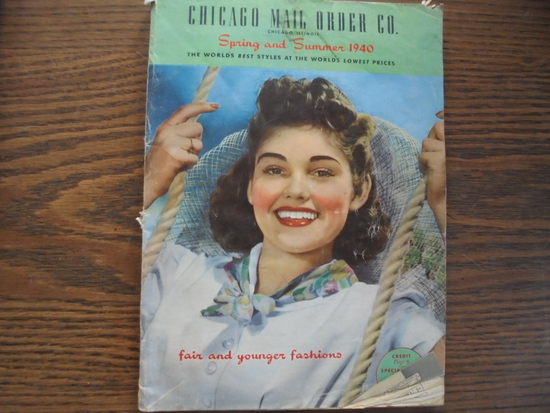 "1940 ""CHICAGO MAIL ORDER CO"" SPRING & SUMMER CATALOG"