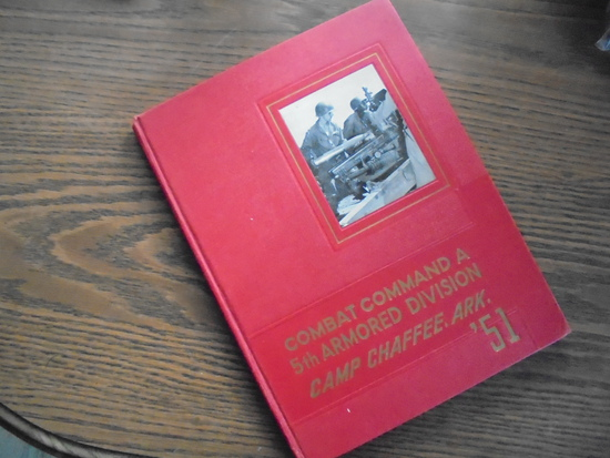 1951 CAMP CHAFFEE, ARK COMBAT COMMAND A - 5TH ARMY ARMORED DIVISION