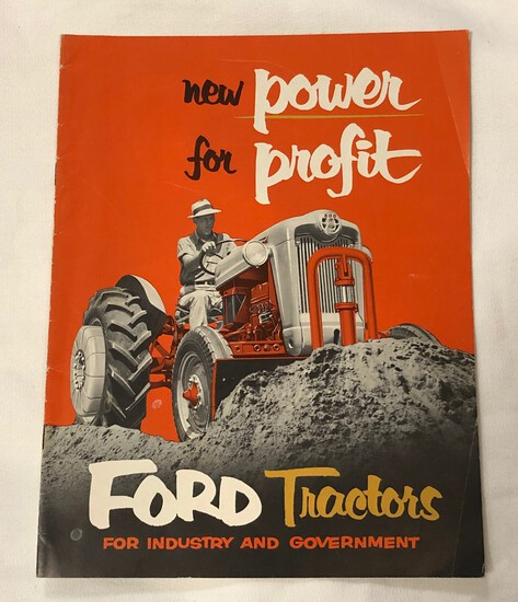 FORD MODEL 850 AND MODEL 650 TRACTORS SALES BROCHURE