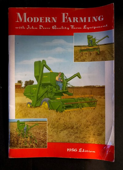 1956 EDITION JOHN DEERE MODERN FARMING BOOKLET