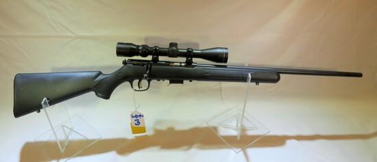 Savage Model 93R17 17HMR with 3-9 Tasco Scope