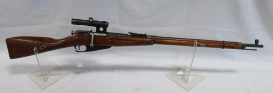 Russian Mosin Nagant Mod 91/30 7.62x54R Bolt Action Rifle with Scope
