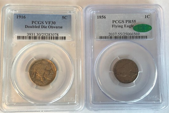 RARE INVESTMENT QUALITY COIN AUCTION -- ROUND TWO