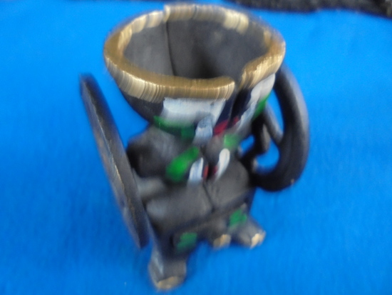 SMALL CAST IRON COFFEE GRINDER MODEL OR TOY