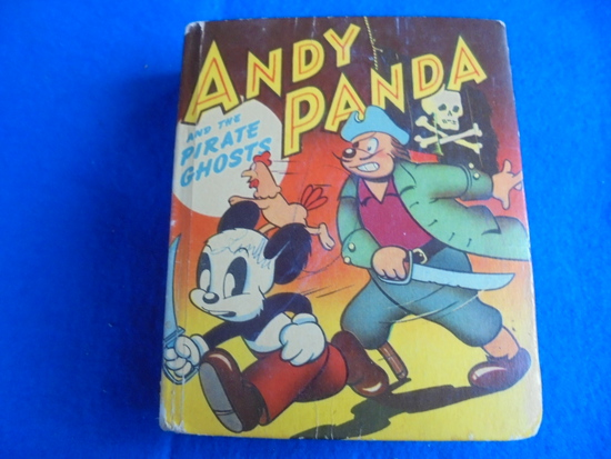 """OLD """"BETTER LITTLE BOOK"""" WITH """"ANDY PANDA"""""""