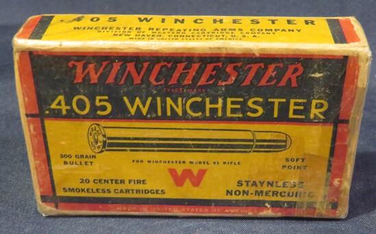 Winchester .405 Win 300gr Soft Point Full Box