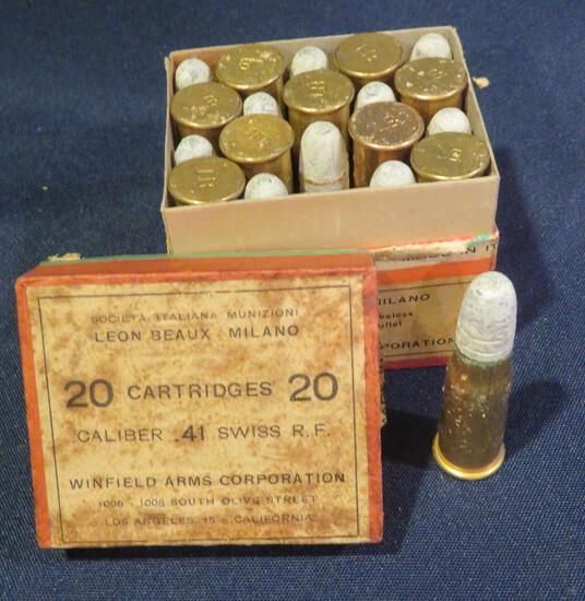 Winfield Arms Corportation .41 Swiss Rimfire