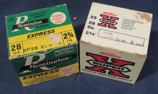 (2) 28 ga Full Boxes