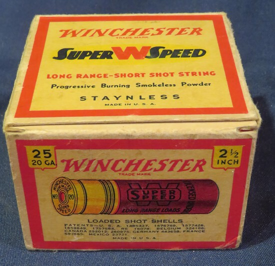 Winchester Super W Speed 20ga 6 Shot
