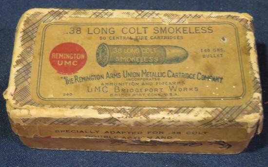 Remington UMC .38 Long Colt 148gr Two-Piece Box