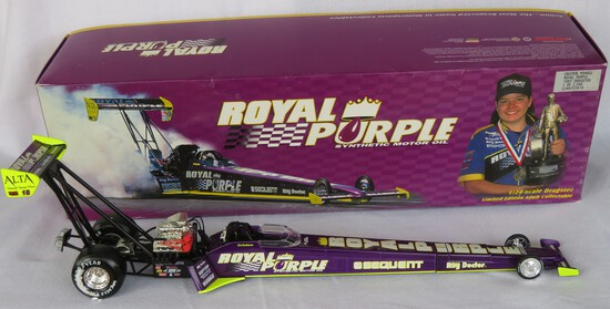 ROYAL PURPLE OIL DRAGSTER - 1/24 SCALE