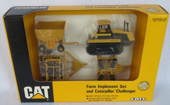CATERPILLAR CHALLENGER FARM SET -- 1/64 SCALE