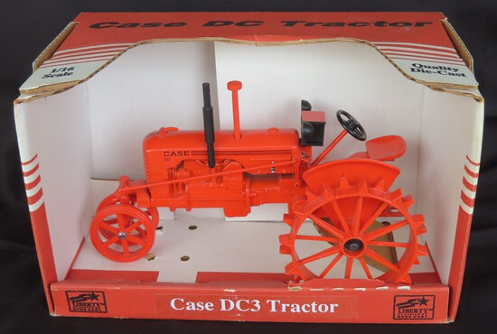 CASE DC TRACTOR - 1/16 SCALE SPEC CAST SPECIAL EDITION