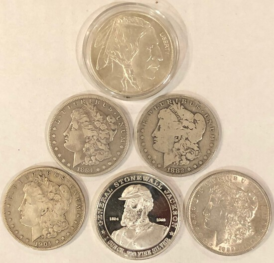 June Collectible Coin and Currency Auction