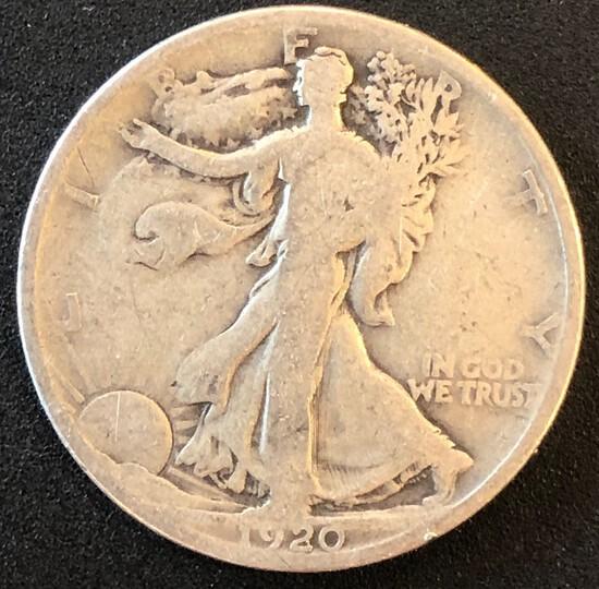 1920 Walking Liberty Half Dollar
