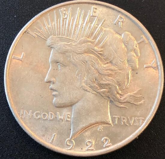 1922 Peace Dollar --- Fairly Nice
