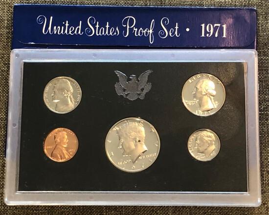 1971 United States Proof Set - San Francisco Mint