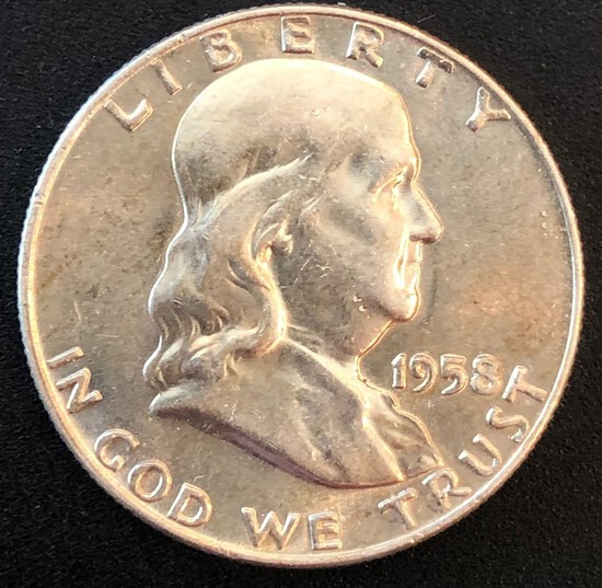 1958-D Franklin Half Dollar - Uncirculated
