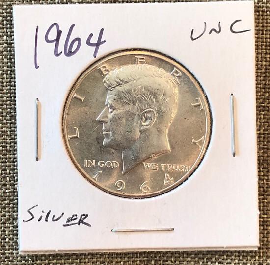 1964 Kennedy Half Dollar - Uncirculated