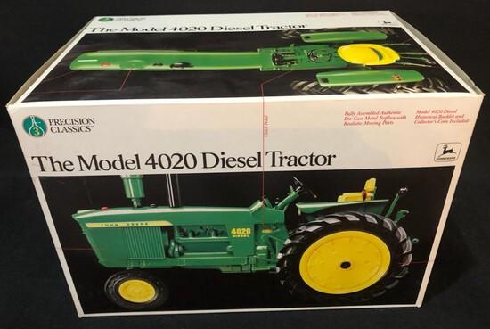 JOHN DEERE MODEL 4020 DIESEL TRACTOR - PRECSION SERIES - NEW IN BOX