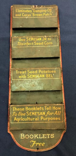 SEMESAN AGRICULTURE BOOKLET DISPLAY