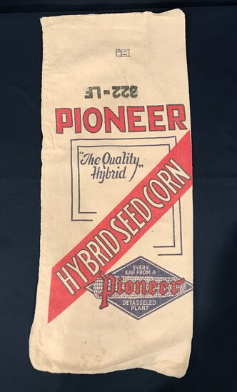 PIONEER HYBRID SEED CORN SACK--ODD SIZED