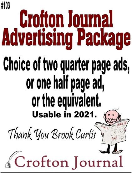 Crofton Journal Advertising Package
