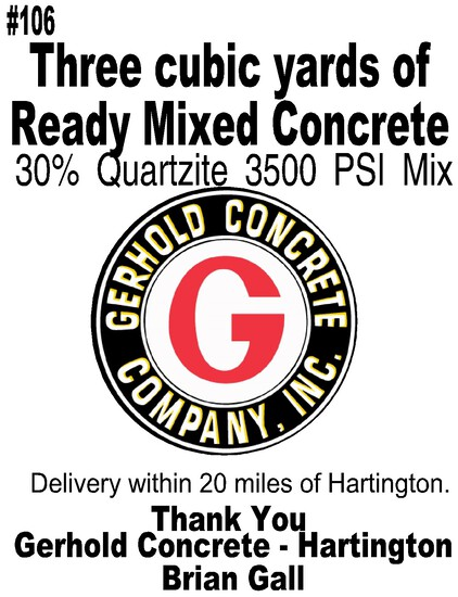 Three Yards of Concrete Redi-Mix
