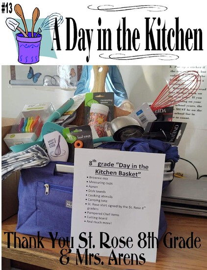 """A Day in the Kitchen"" Carrying Tote"